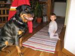 Ares ( 3 Jahre ) und Alina ( fast 1,5 jahre )
