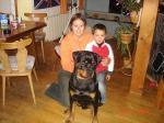 Ares 10 M mit Tanja und Sohn Tobias