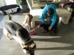 Flash, Alina, Cara und Tobias